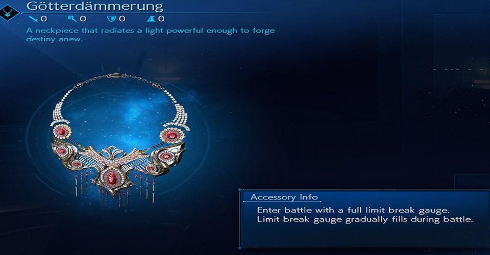 Cara Mendapatkan Gotterdammerung Untuk Limit Charge Instan Di Final Fantasy 7 Remake